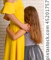 mother with daughter 45201757
