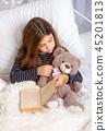 Girl Read Book 45201813
