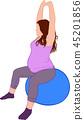 pregant yoga ball 45201856
