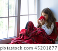 Girl Drink Tea 45201877