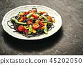 black, spaghetti, pasta 45202050