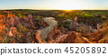 High resolution wide panorama of Marafa Depression 45205892