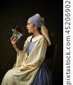 dress, woman, worker 45206902