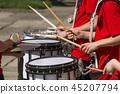 鼓 鼓手 器具 45207794