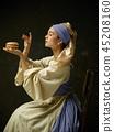 dress woman worker 45208160