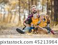 father, kids, children 45213964