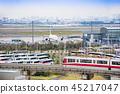 monorail, haneda, international 45217047