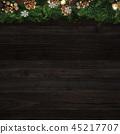 พื้นหลัง - คริสต์มาส - ต้นสนประดับ 45217707