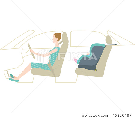 母親駕駛嬰兒座椅(ISOFIX兼容) 45220487