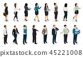 Office People Isometric Set 45221008