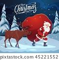 christmas, santa, claus 45221552