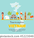 vietnam vector travel 45223046