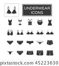 underwear set icon 45223630