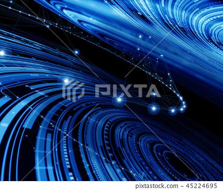 사이버, 기술, 테크놀로지 45224695