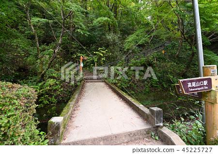 Mt. Takao Inari mountain course mountain trail in autumn 45225727