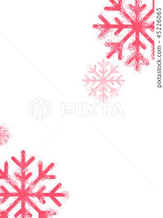 雪花背景 45226065