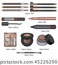 cosmetic, makeup, vector 45226200