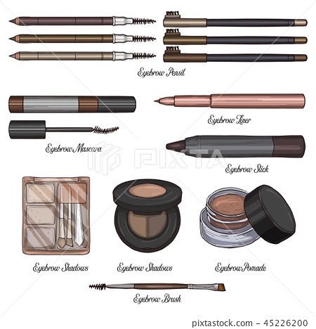 Sketch set of makeup products 45226200