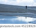 돗토리 사구, 겨울, 사구 45228926