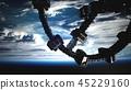 earth, orbit, shuttle 45229160