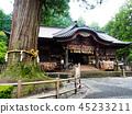 Fujiyoshida Sengen Shrine, Japan - Sep 2018. 45233211
