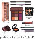 cosmetic, makeup, vector 45234685