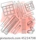 cosmetic, makeup, vector 45234798