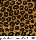 leopard pattern seamless 45240180