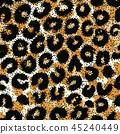 leopard pattern seamless 45240449