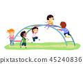 kids, playground, playing 45240836