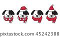 개, 강아지, 벡터 45242388
