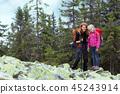hiker, hiking, people 45243914