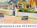 Thailand, landmark, Tuk 45249335