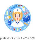 nurse doctor girl 45252229