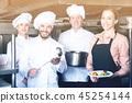 restaurant, kitchen, chef 45254144