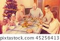 christmas,family,child 45256413