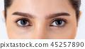 Beautiful portrait asian woman with makeup 45257890