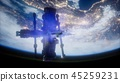 earth, space, globe 45259231