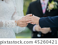 wear a ring, wedding ring, love couple 45260421