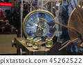 Vintage big clock and group of small alarm 45262522