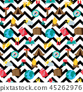 Cartoon travelling and camping seamless pattern 45262976