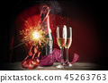 Party or event celebration with champagne  45263763