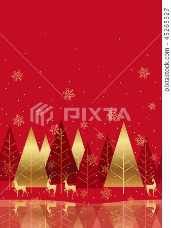 無縫聖誕節背景 45265327