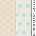 Pastel Thai vintage seamless patterns background 45269133