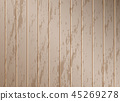 Brown wood texture background, vector illustration 45269278