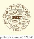 사탕, 캔디, 당류 45270841
