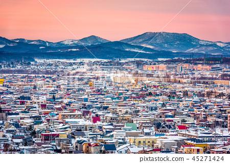 Asahikawa, Hokkaido, Japan Skyline 45271424