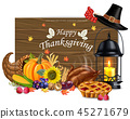 thanksgiving, happy, celebration 45271679