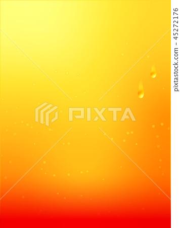 Cassis Orange Background Free Gradation Stock
