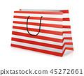 Shopping bag, realistic vector illustration 45272661